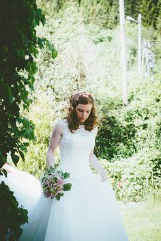 Justin Alexander wedding dress 7000 kr- FINN Torget