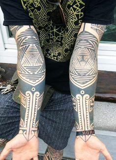 Gerhard Wiesbeck #InkedMagazine #tattoo #tattoos #Inked #ink #triangle