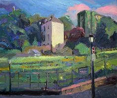 Richard Claremont #Art - Afternoon light at Clos Montmartre - #Cityscape #Oil…