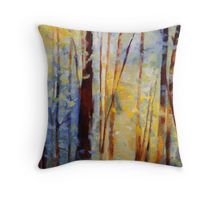 new trees painting available! clairewhitehead: Throw Pillows   Redbubble
