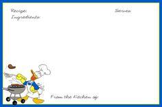 Disney Recipe Cards - The DIS Discussion Forums - DISboards.com