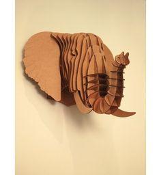 Elephant en carton Fleux