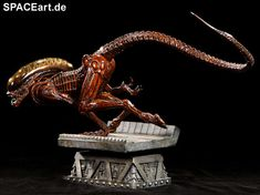 Alien 3: Dog Alien Statue, Fertig-Modell ... http://spaceart.de/produkte/al014.php