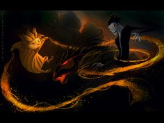 Sandman vs. Pitch - Battle for the Dreamworld by ProfessorPemzini.deviantart.com on @deviantART