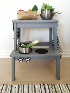 ikea moppe hack puppenk che selber bauen ganz einfach ikea hacks pinterest ikea hack. Black Bedroom Furniture Sets. Home Design Ideas