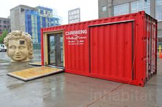 Mobile Caribbeing shipping container pavilion brings Caribbean...
