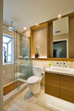 Contemporary Asian Bathroom - Contemporary - Bathroom - Hawaii - MCYIA Interior Architecture and Design