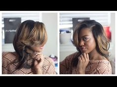 Add Volume to your Natural Hair   Pin Curl Style   Talk Though - YouTube