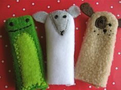 I want to make finger puppets!