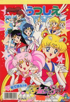 Sailor Moon Super S, Scouts, Kawaii, Crystal, Manga, Disney, Classic, Poster, Bedroom Decor