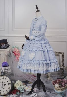 ZJ Story -The Mad Hatter and Alice- Alice Lolita OP Dress