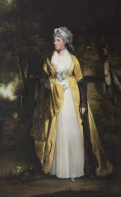 Portrait of Jane Fauquier, Lady Vernon, John Hopner, oil on canvas, date given as 1785-1800 (probably 1785-1795).