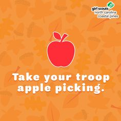  Happy Fall, Y'all! This month we are sharing some of our favorite autumn activities to get your troop in the spirit of the season. Number one? Take your troop apple picking! Autumn Activities, Happy Fall, Number One, Girl Scouts, Troops, North Carolina, Coastal, Spirit, Party Ideas