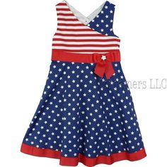4th july dresses  | 4th of July Dresses| Patriotic Dresses|Bonnie Jean Girls Dresses
