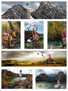 Dominic Cotter Dephoff Tararua College Level 3 Photography Folio Board 2 Farm Photography, Photography Portfolio, Student Work, Art Inspo, Illusions, Level 3, Landscape, Painting, Animals