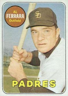 1969 Topps Al Ferrara #452-y Baseball Card