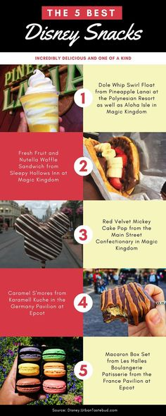 Here are the 5 best snacks that you must get at least once in Walt Disney World.