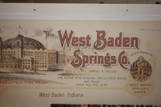 West Baden Resort in French Lick , Indiana