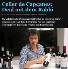 Celler de Capçanes: Tratar con el rabino   Celler Capçanes