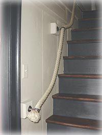 Husband,   Please make this nautical banister for me.  Thanks