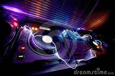 Glowing Dj Equipment  by Zerodotnine available at http://sniffmusic.com