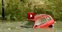 Woman Drowning in her SUV is Miraculously Saved , no one can explain it COLORADO FLOODING