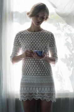 Beautiful Thread Crochet Dress from TBA Spring/ Summer 2012.