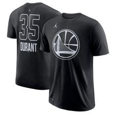 d53a18efe9fb1e Nike Jordan Men s 2018 NBA All-Star Game Kevin Durant Dri-Fit Black T-Shirt  2XL