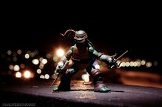 Raph by PrometheanPenguin.deviantart.com on @deviantART #TeenageMutantNinjaTurtles #NinjaTurtles #toyphotography #Leonardo #Raphael #Donatello #Michelangelo