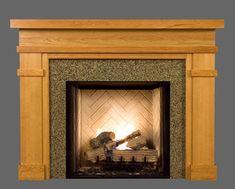Bridgeport Custom Wood Fireplace Mantel