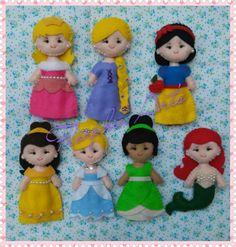 Princesas 10cm