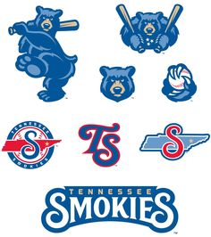 New Logos for Tennessee Smokies by Studio Simon
