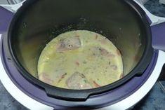 Blanquette de saumon au Cookéo