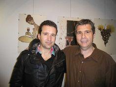 Con mi amigo Buendía Martinez