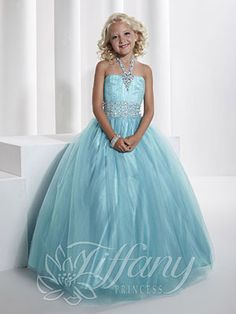 Girls Pageant Dresses by Tiffany Princess 13346