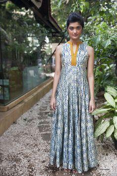 designer anushree,,, maxi dress with traditional twist