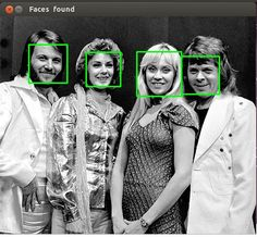 Face detection in Python 25 lines of code