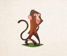 Animal characters on Behance