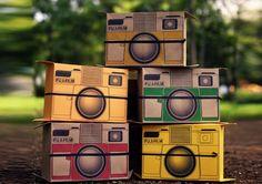Flutter In Pinhole, pinhole camera, green design, cardboard camera, flatpack camera, eco design, instant camera, Yoo Geun-hyuk , Yoon Bo-jung