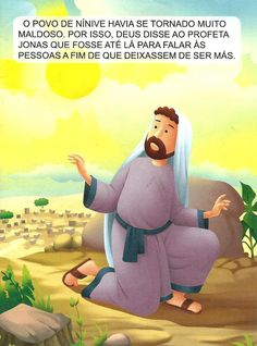 A ordem de Deus a Jonas