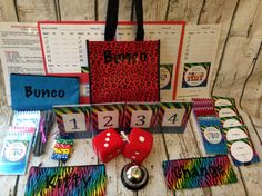 16 Person Bunco Party Game Starter Kit: by TheBuncoEuchreQueen