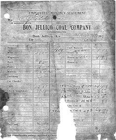 Bon Jellico, Kentucky History