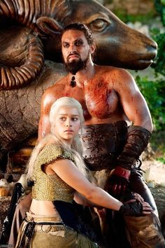 Khaleesi and hubby