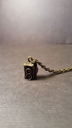 Vintage Camera Necklace  Charm Necklace  Twin Lens Camera