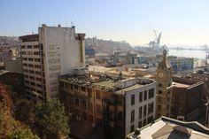 Valparaíso desde el Ascensor Concepción. Mayo 2014.