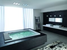 Modern Contemporary Hydromassage Baththubs Sink Teuco Rugs Batroom Design - pictures, photos, images