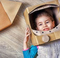 C&A has fun ideas for teaching kids about sustainable living: start a pizza garden, make a spaceship out of a cardboard box, and organise a scavenger hunt to pick up paper and plastic trash.