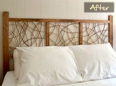 Bent Wood Headboard