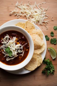 Warm up with this easy, chunky chili recipe made with ground beef, beans, and corn!