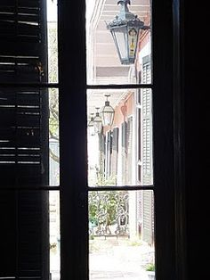 New Orleans Shutters - nothing like them!  Love, love, love...